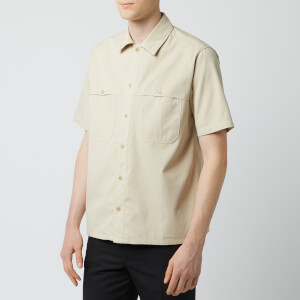 AMI Men's Chest Pocket Shirt - Beige