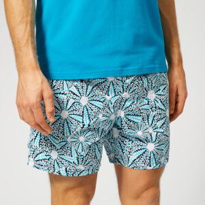 Vilebrequin Men's Moorea Urchin Print Swim Shorts - Navy