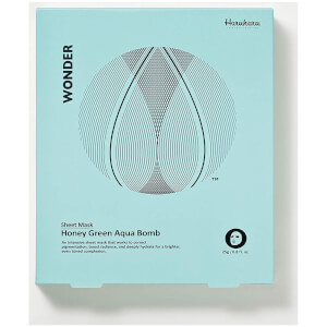Haruharu Wonder Honey Green Aqua Bomb Mask 5 Pack