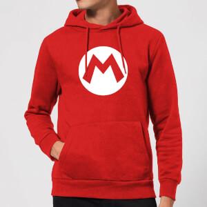 Nintendo Super Mario Logo Hoodie - Red