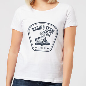 T-Shirt Nintendo Mario Kart Racing Team - Bianco - Donna