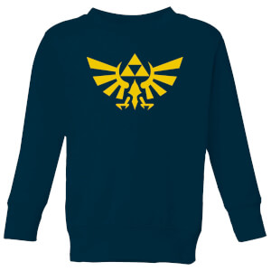 Nintendo Legend Of Zelda Hyrule Kid's Sweatshirt - Navy