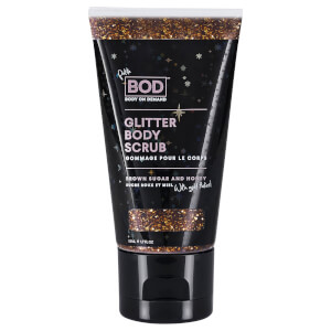 BOD Brown Sugar & Honey Rose Gold Flaked Scrub – Petite