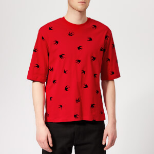 McQ Alexander McQueen Men's Mini Swallow T-Shirt - Cadillac Red