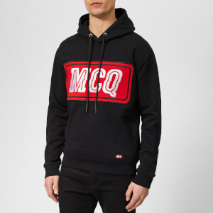 McQ Alexander McQueen Men's Gas Stop Logo Hoody - Darkest Black