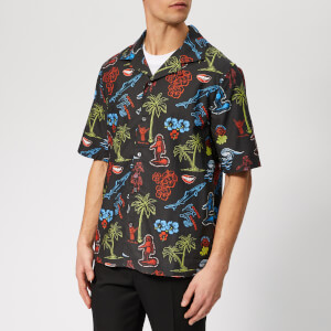 McQ Alexander McQueen Men's Billy Surfer Zombie Shirt - Darkest Black