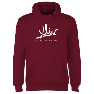How Ridiculous XLIV Script Hoodie - Burgundy