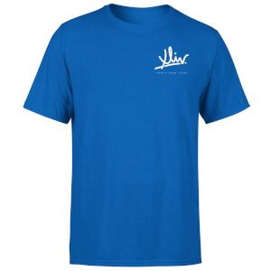 How Ridiculous XLIV Script Pocket Men's T-Shirt - Royal Blue