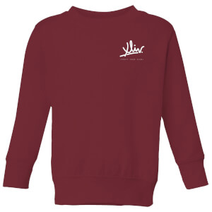How Ridiculous XLIV Script Pocket Kids' Sweatshirt - Burgundy