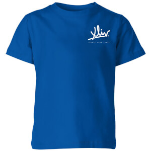How Ridiculous XLIV Script Pocket Kids' T-Shirt - Royal Blue