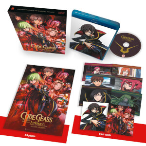 Code Geass: Lelouch of the Rebellion I – Initiation Édition Collector (Limitée à 500 copies)