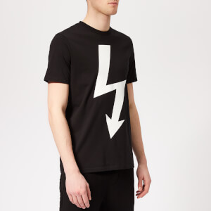 Neil Barrett Men's Arrow Bolt T-Shirt - Black/White