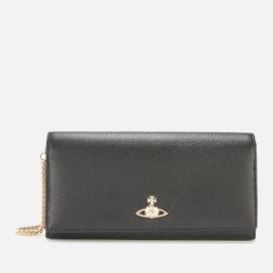Vivienne Westwood Women's Balmoral Long Wallet with Chain - Black