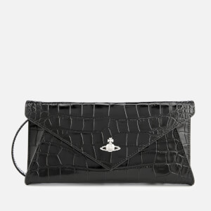 Vivienne Westwood Women's Lisa Envelope Clutch Bag - Black