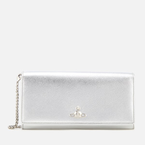 def3423e14 Vivienne Westwood Women's Pimlico Long Wallet with Chain - Silver