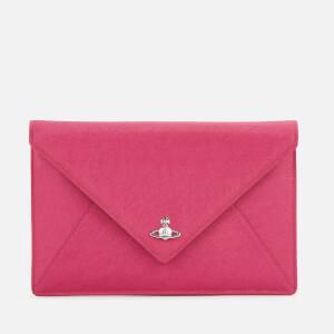 Vivienne Westwood Women's Victoria Envelope Clutch Bag - Pink
