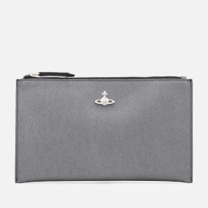 160d9c6815 Vivienne Westwood Women's Victoria Purse with Zip - Anthracite