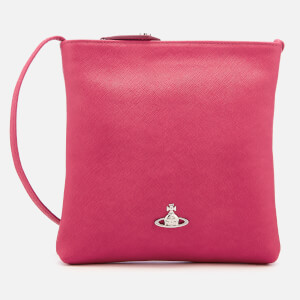 Vivienne Westwood Women's Victoria Square Cross Body Bag - Pink