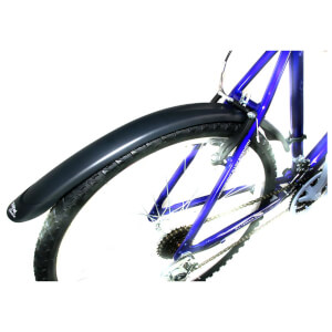 Zefal Classic 26-24 Inch MTB Clip on Bicycle Mudguards