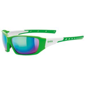 Uvex Sportstyle 219 Glasses - Green/White