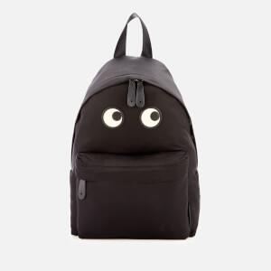 Anya Hindmarch Women s Nylon Eyes Backpack - Black 43dbce2e91