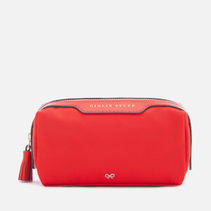 Anya Hindmarch Women's Girlie Stuff Cosmetic Case - Red