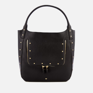 Anya Hindmarch Women's Stud Vere Shopper Bag - Black
