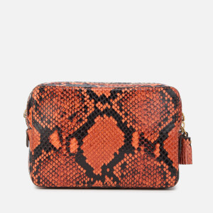 Anya Hindmarch Women's Double Zip Wallet on Strap - Natural/Burnt Sienna: Image 2