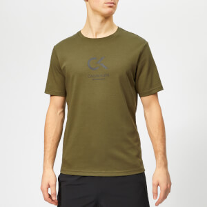 Calvin Klein Performance Men's Short Sleeve T-Shirt - Olive Night