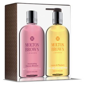 Conjunto para Mãos e Corpo Intoxicating Davana Blossom and Lemon & Mandarin da Molton Brown
