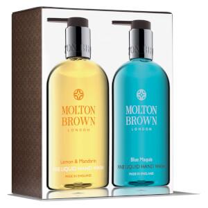 Set de jabón de manos con limón, mandarina y maqui azul de Molton Brown