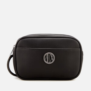 Armani Exchange Women's Small Logo Cross Body Bag - Black