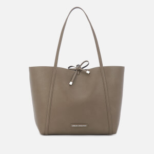 Armani Exchange Women's Reversible Tote Bag - Taupe/Black