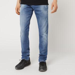 Emporio Armani Men's 5 Pocket Skinny Jeans - Denim Blue