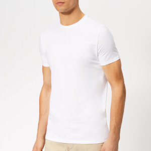 Emporio Armani Men's Small Logo T-Shirt - White