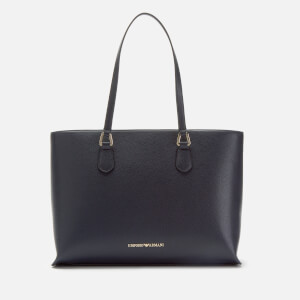 Emporio Armani Women's Shopping Bag - Blu Navy