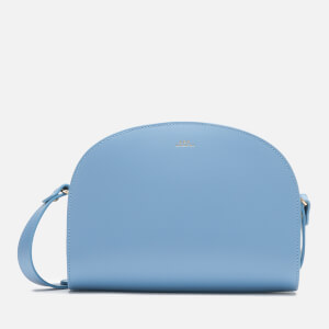 A.P.C. Women's Demi Lune Bag - Blue