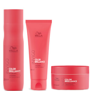 Wella INVIGO Color Brilliance Trio for Fine Hair (Worth £40.20)