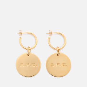 A.P.C. Women's Anna Earrings - Gold