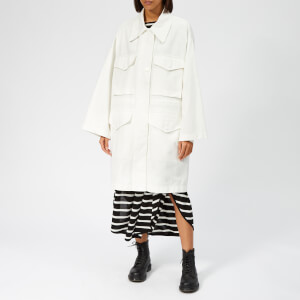 MM6 Maison Margiela Women's Woven Sporty Jacket - Off White