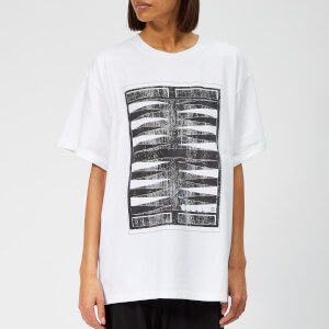 MM6 Maison Margiela Women's Printed T-Shirt - White