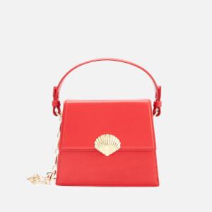 RIXO Women's Jemima Croc Bag - Red