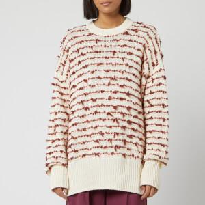 Golden Goose Deluxe Brand Women's Erica Jumper - Natural/Bordeaux Stripes