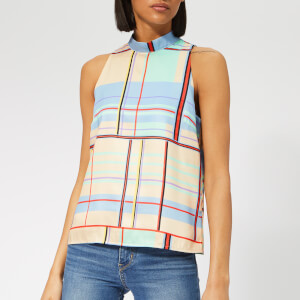 Gestuz Women's Ambina Top - Multi Check