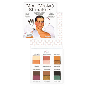 theBalm Meet Matt(e)shmaker Eye Shadow Eye Shadow Palette 9.6g - AU