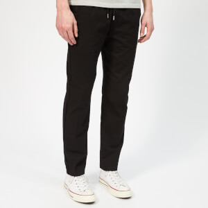 Folk Men's Drawcord Trousers - Black