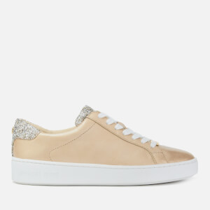 MICHAEL MICHAEL KORS Women's Irving Cupsole Trainers - Pale Gold