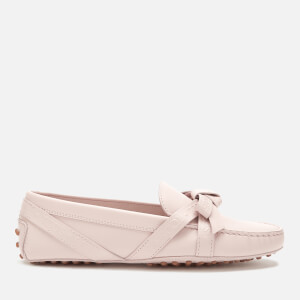 Tod's Women's Gommini Bow Strap Detail Loafers - Glove