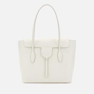 Tod's Women's Medium Handle Tote Bag - White