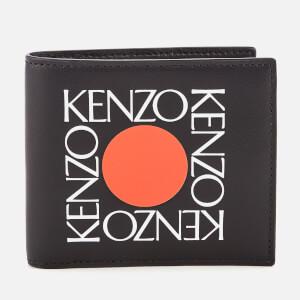 KENZO Men's Fold Wallet - Black